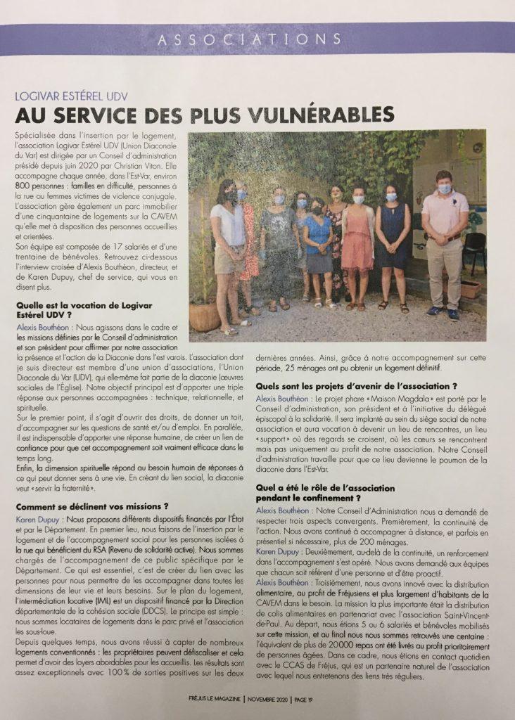 article Fréjus ville